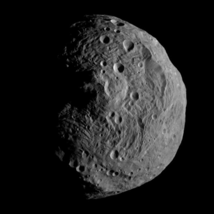 Vesta the Asteroid